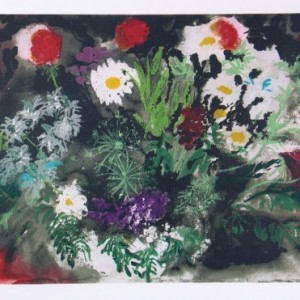 Late Summer Flowers by John Piper