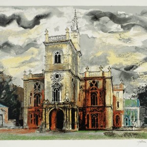Flintham 1977 by John Piper