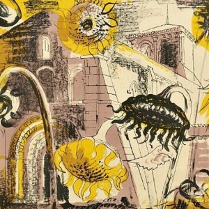 Sunflowers at Marignac by John Piper
