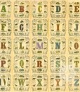 Approprated Alphabets 11 by Sir Peter Blake