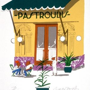 Pastroudis by Paul Hogarth