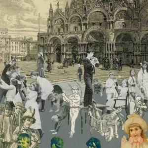 Childrens Games - The Venice Suite by Sir Peter Blake