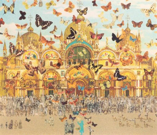 The Butterfly Man in Venice – Homage to Damien Hirst