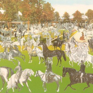 Vichy - Horseshow by Sir Peter Blake