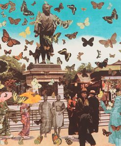 The Butterfly Man in Tokyo – Homage to Damien Hirst