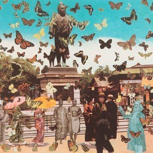 The Butterfly Man in Tokyo - Homage to Damien Hirst by Sir Peter Blake