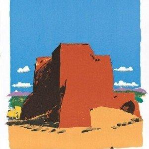 Ranchos de Teos by Paul Hogarth OBE RA