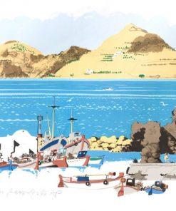 Naousa Harbour Paros