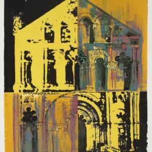 Petit Palais, Yellow and Yellow by John Piper