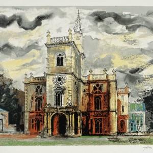 Flintham 1977 by John Piper