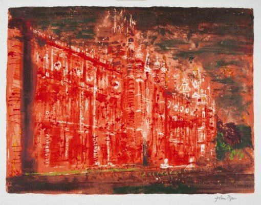 Royal Holloway College by John Piper