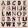 Approprated Alphabets 3 by Sir Peter Blake
