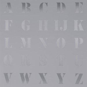 Approprated Alphabets 5 by Sir Peter Blake