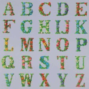 Approprated Alphabets 8 by Sir Peter Blake