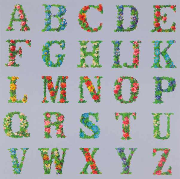 Appropriated Alphabets 8