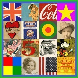 Sources of Pop Art 4 bySir Peter Blake