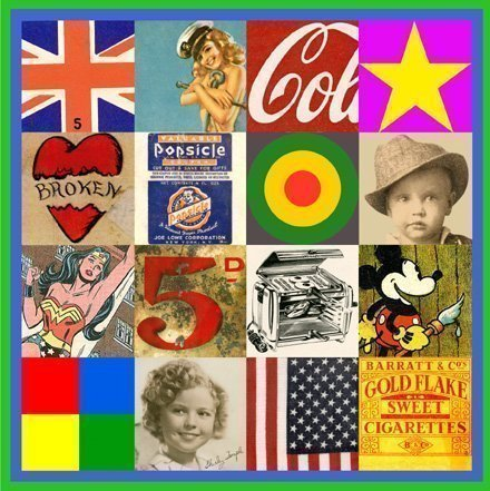 Sources of Pop Art IV by Sir Peter Blake