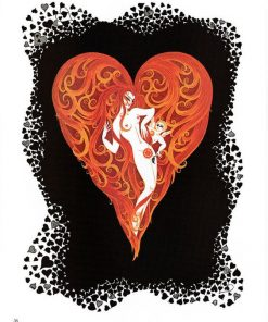 Ace of Hearts by Erte (1892-1990)