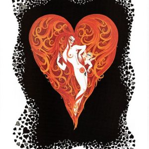 Ace of Hearts by Erte