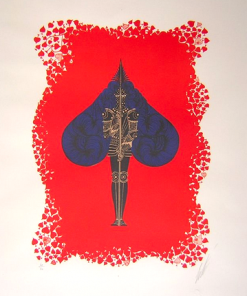 Ace of Spades by Erte (1892-1990)