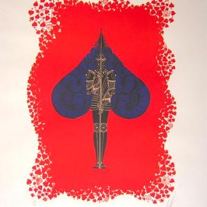 Ace of Spades by Erte