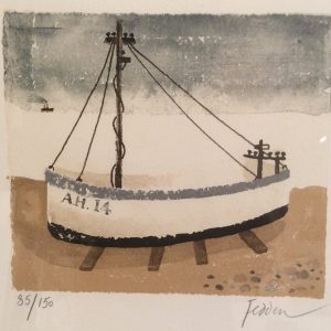 Aldeburgh Fish Boat by Mary Fedden