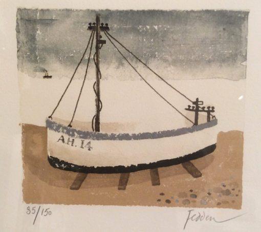 Aldeburgh Fish Boat by Mary Fedden