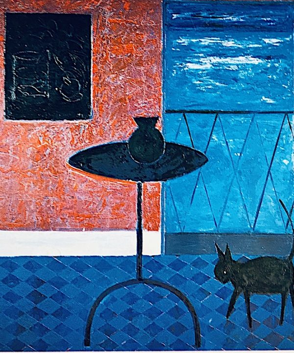 'And Then The Cat Came In' 1983 by John D Edwards