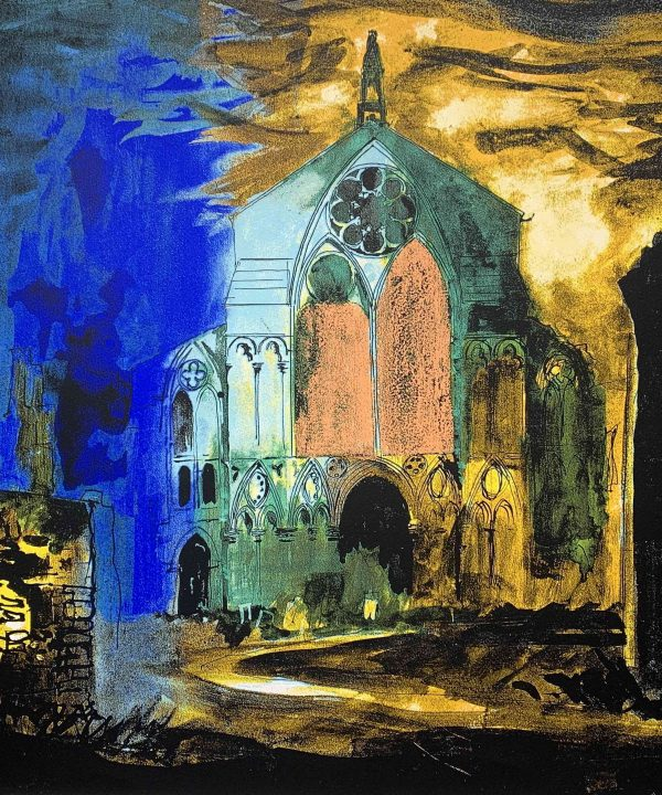Binham Abbey by John Piper