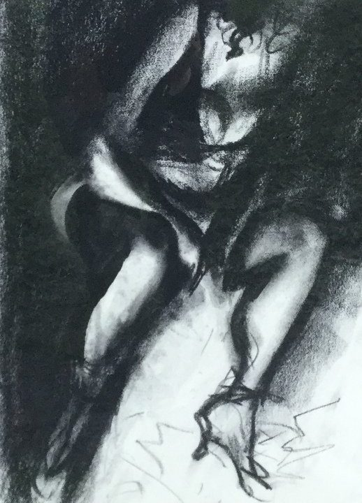 Nude Study by John Piper