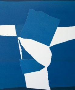 Blue Square Collage