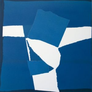 Blue Square Collage_Sandra Blow