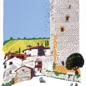 Chianti Village by Paul Hogarth