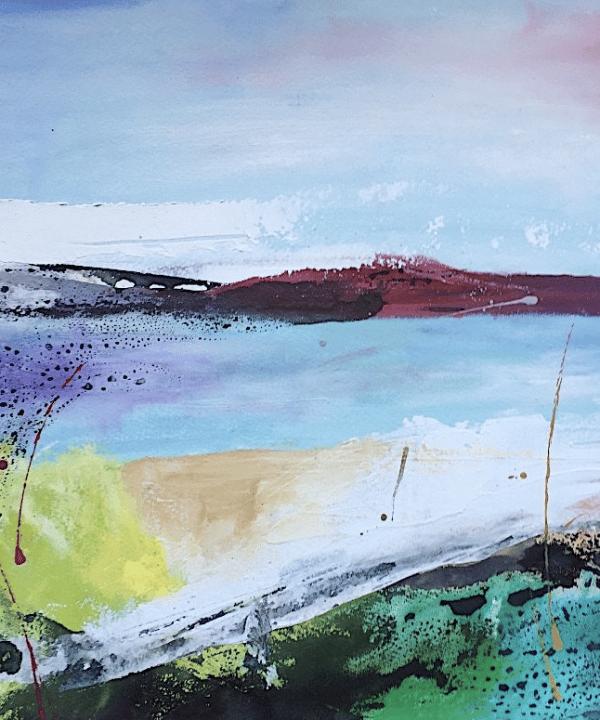 Coastal Landscape I by Megan Spencer
