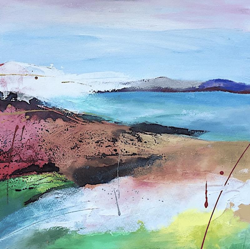 Coastal Landscape II by Megan Spencer