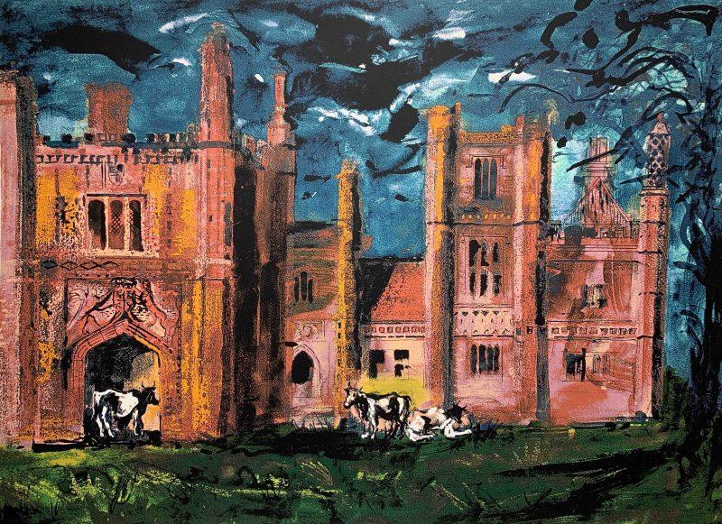 East Barsham Manor by John Piper