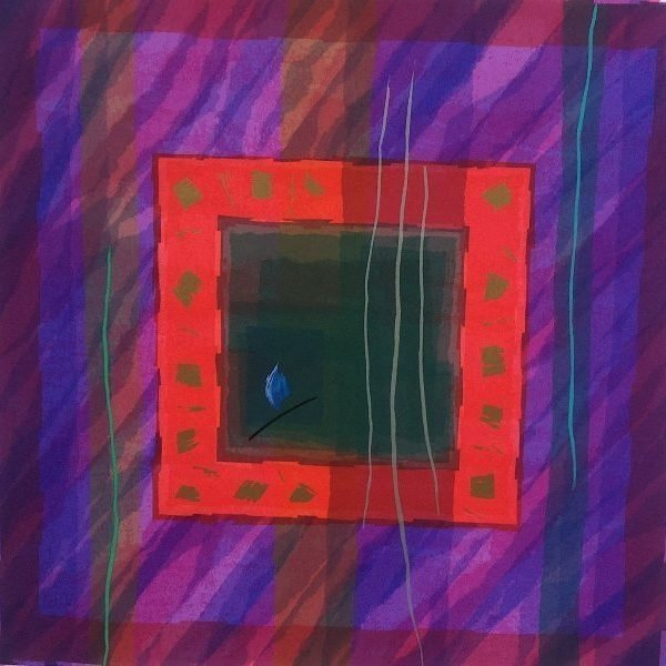 Edged Coloursquare Eight by Anita Ford