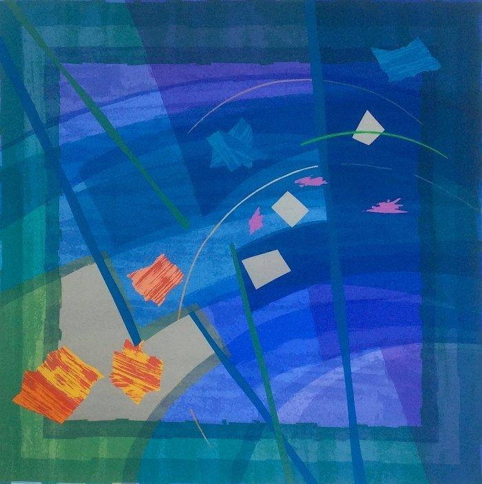 Edged Coloursquare Seven  by Anita Ford