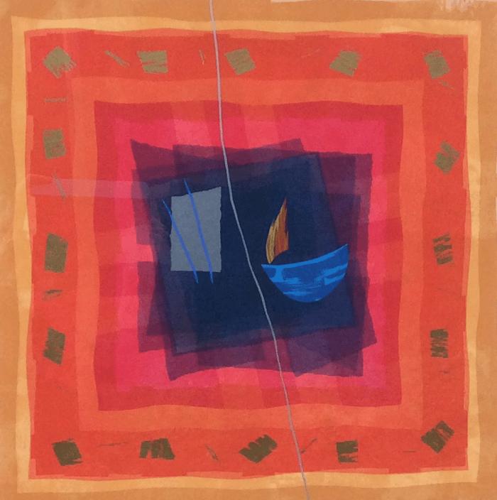 Edged Coloursquare Six by Anita Ford
