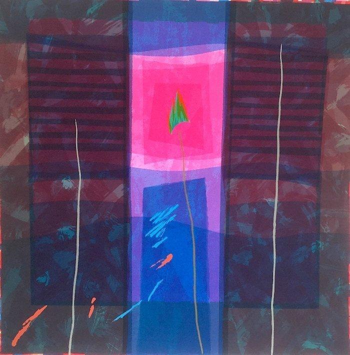 Edged Coloursquare Ten by Anita Ford
