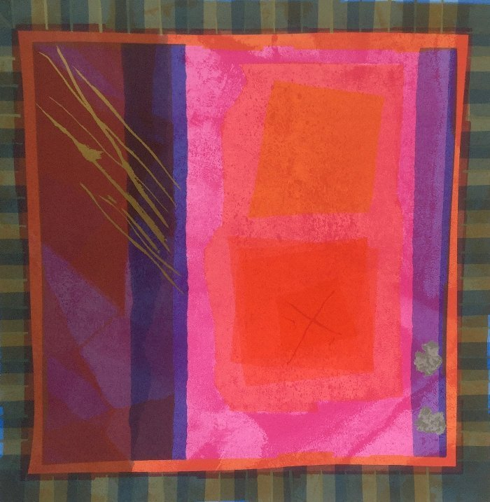 Edged Coloursquare Two by Anita Ford