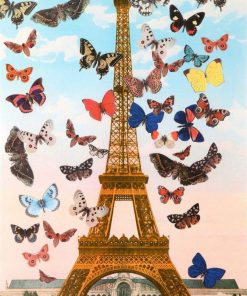 Eiffel Tower_Paris Quartet by Sir Peter Blake