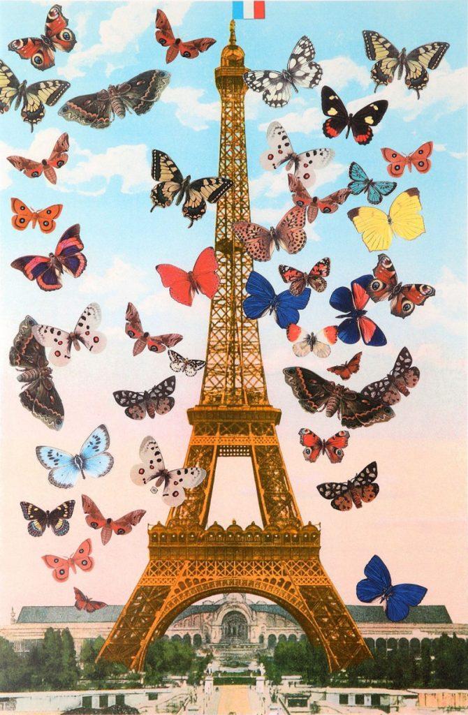 Eiffel Tower Paris Quartet