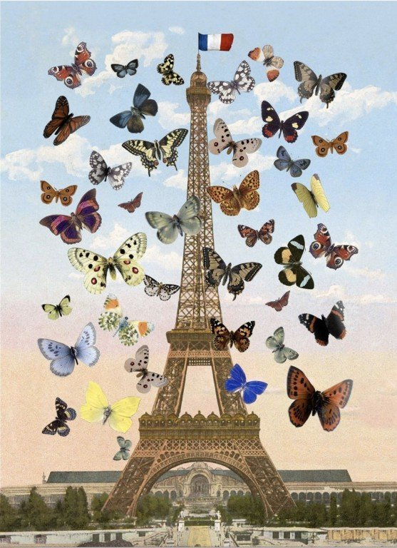 Eiffel Tower 3D Lenticular – Medium