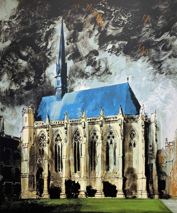 Exeter College Oxford, by John Piper