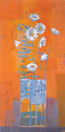 Ferns and Daisies by Kirsty Wither