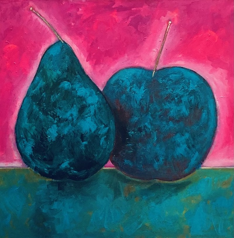 'Fruits of Love in the Heat' 2021 by John D Edwards