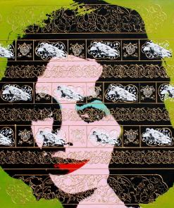 Green Liz by Mahmood Sabzi