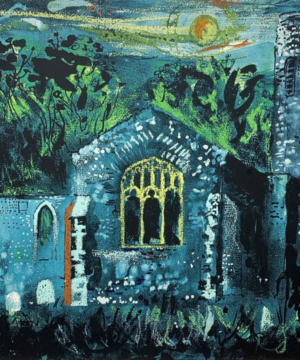 Hautbois Church, Norfolk by John Piper