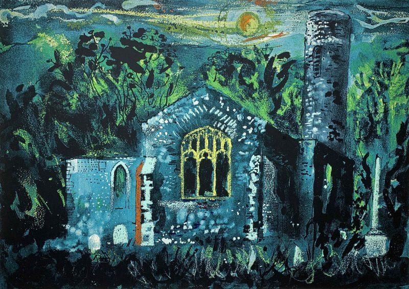 Hautbois Church, Norfolk by John Piper
